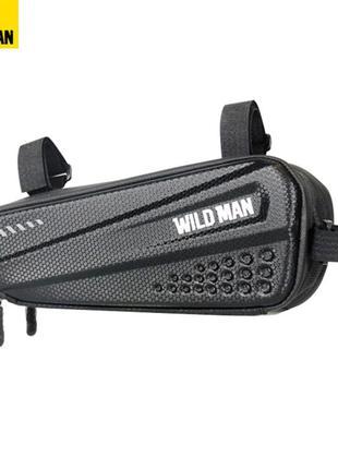 Велосипедная сумка Wild Man ES4 треугольник под раму