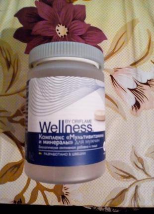 Комплекс «Мультивитамины и минералы» для мужчин Wellness
