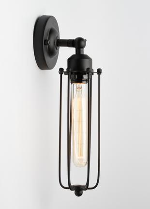 Бра Ретро решетка, настенный светильник, Лофт