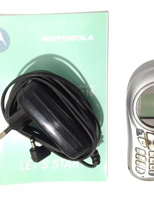 Мобильный телефон Motorola C115. Silver.