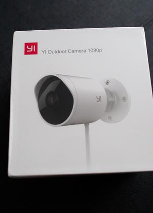 Xiaomi YI Outdoor Camera 1080p. Камера відеонагляду