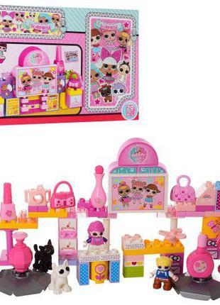 Конструктор Куклы LOL лол 2310 выставка лего - lego кор-ке, 53...
