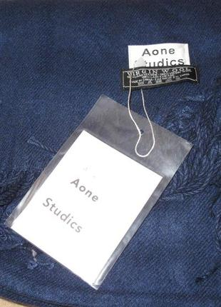Великий теплий шарф aone studios шерсть новий бірки