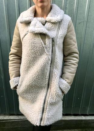 Пальто дубленка женская