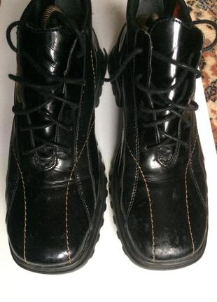 Немецкие кожаные ботинки rieker 42 {27.5-28}
