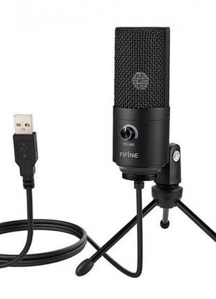 Микрофон конденсаторный настрольный USB Fifine K669