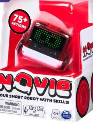 Интерактивный робот Spin Master Novie красный