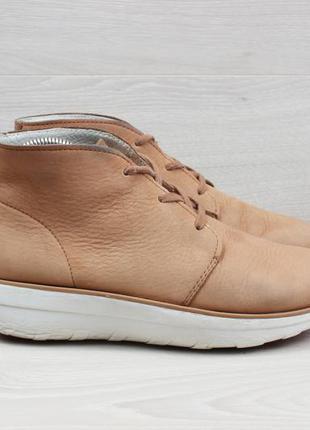Женские кожаные ботинки / полуботинки fitflop, размер 38