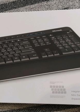 Клавиатура и мышка Microsoft Wireless Desktop 3050 (PP3-00018)