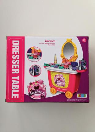 Игрушка туалетный столик набор для девочек