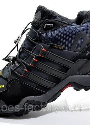 Мужские зимние кроссовки Adidas Terrex Gtx, Синий, купить