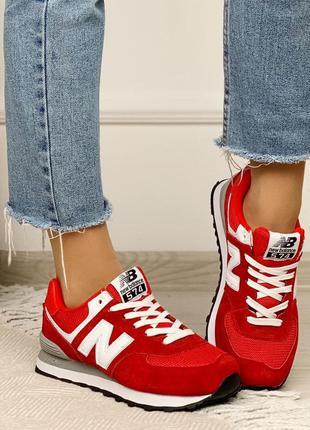 Женские замшевые кроссовки,красные  замшевые кроссовки