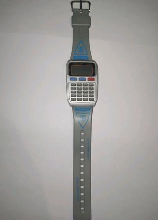 Часы калькулятор наручные электронные
