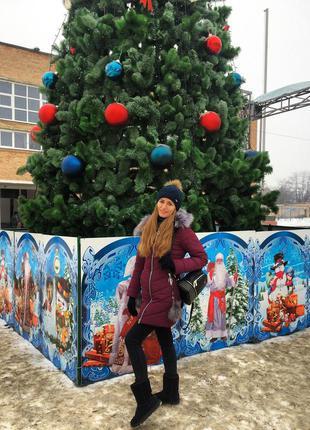 Женский зимний пуховик/куртка/пальто