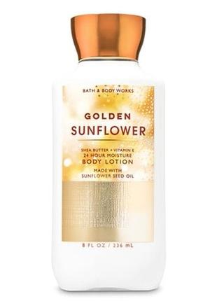 Лосьон bath&body works golden sunflower