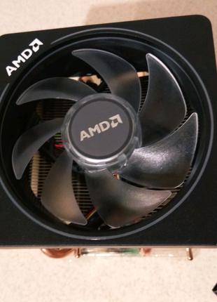 Кулер охлаждение процессора AMD Wraith Prism RGB (AMD/Intel)