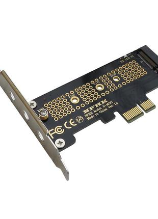 Лот из 2-х переходников NVMe M.2 M2 SSD В PCI-E x1