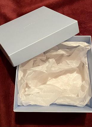 Подарочная картонная коробка упаковка подарок новый год праздн...