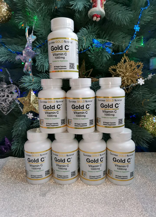 California gold nutrition витамин С 1000мг