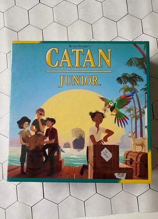 Оригинал Catan Junior настольная игра Колонизаторы