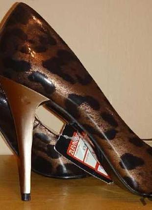 Леопардови туфли f&f р39 нови бирки