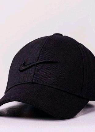 Кепка nike черная черное лого найк