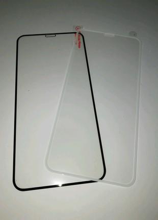 Защитное закаленное стекло для iPhone X/XS