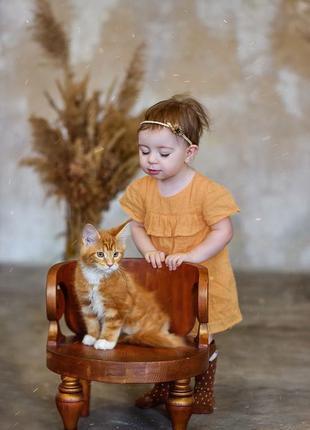 Деревянный стул для фотосессии ситтеров, деток старше реквизит...
