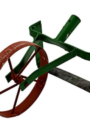 Плоскорез с колесом ручной