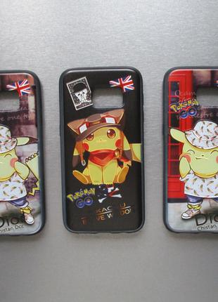 Чехол Pokemon Go для / на Samsung Galaxy S7 G930