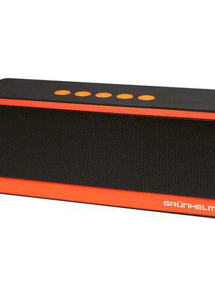 Портативна акустика GGT-308 Чорний/ Оранжевий