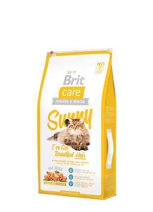 Сухой корм для кошек, шерсть которых требует дополнительного уход