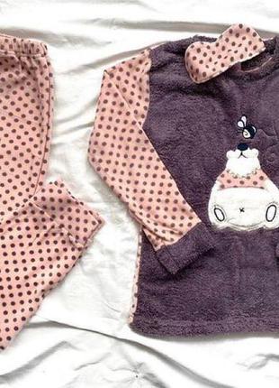Пижамка с белым медведем🕊🕊