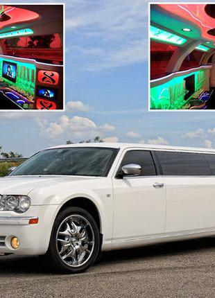 014 Лимузин Chrysler 300C Limo white 2012 аренда
