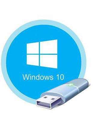 Загрузочная флешка 32GB Установка Windows 10 8 7 XP Драйвера П...