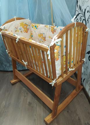 Кроватка-люлька для новорожденых