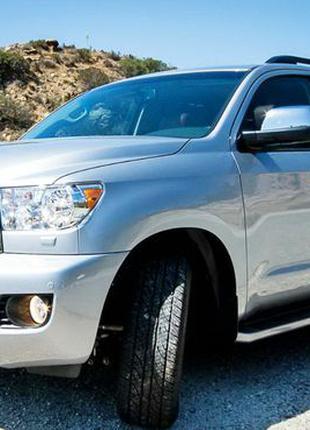 237 Внедорожник Toyota Sequoia серебристая аренда