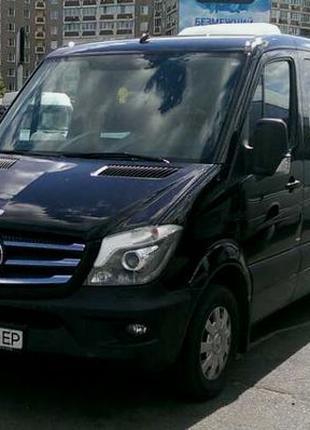 277 Микроавтобус Mercedes Sprinter 316 NEW черный VIP 9 мест арен