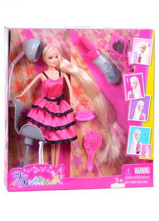 Кукла Барби с длинными волосами, парикмахерское кресло
