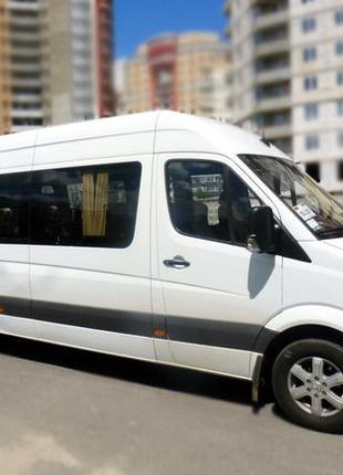 306 Микроавтобус Mercedes Sprinter новый кузов прокат