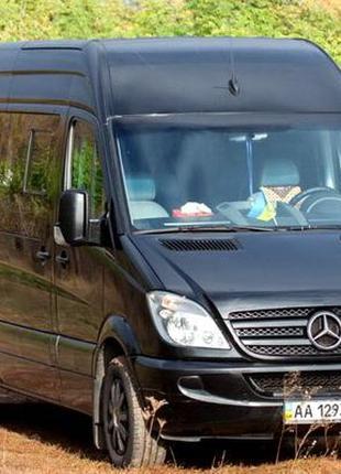 308 Микроавтобус Mercedes Sprinter черный аренда Киев цена