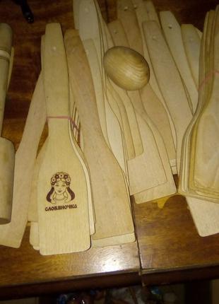 Лопатка кухонная деревянная