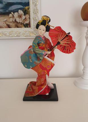 Статуэтка гейша китаянка