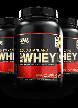 Protein Optimum Nutrition 100% Whey Gold Standard - 900 г