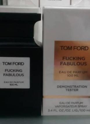 Тестер tom ford fucking fabulous 100ml edp