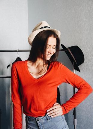 Красный свитерок от pimkie