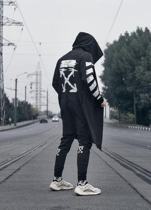 Мантия унисекс в стиле Off White черная