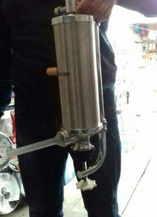 Колбасный шприц 2.5 кг загрузки Вертикальный Vanessa