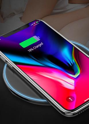 Беспроводная зарядка к IPhone или Android