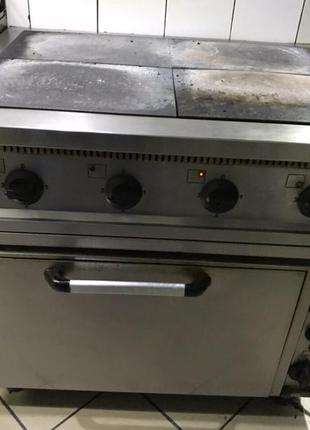 Плита электрическая 4-х комфорочная с духовкой,  Украина